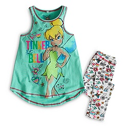 Tinkerbell - Set mit Top und Leggings