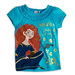 Merida - Legende der Highlands - T-Shirt für Kinder türkis
