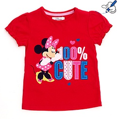 Minnie Maus - T-Shirt für Kinder