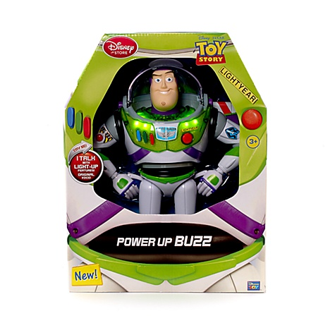Toy Story - Power Up Buzz Actionfigur