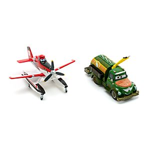 Planes 2 - Feuerwehr-Dusty und Chug Die Cast-Set