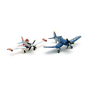 Planes 2 - Skipper und Turbo Dusty Die Cast Set