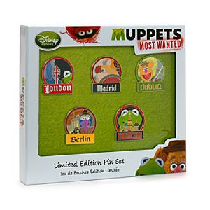 Muppets Most Wanted - Anstecknadelset
